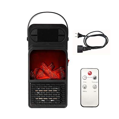 JW-NFJ Handy Fiamma Mini riscaldatore riscaldatori elettrici Stufa elettrica Air Vent Heater Personal Spazio Riscaldamento della Ventola del radiatore per l inverno 900W con Cavo di prolunga