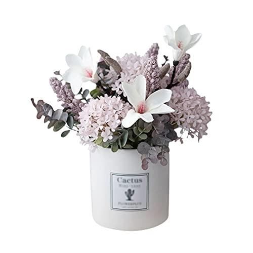 MQH Flor Artificial Flores Artificiales Plantas Falsas Flores de Navidad Artificial para Adornos de decoración Decoración para el hogar Fiesta Jardín de Boda Decoración