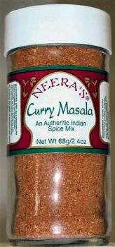 Curry Masala - authentic Indian curry powder, 1 jar