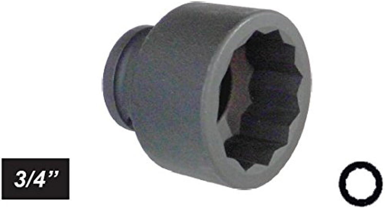 'Vielzahn Steckschlüssel Impact Impact Impact Sockel 3 4 mm 37 Kurz B079BYCJD9 | Ausgezeichnetes Handwerk  2e6884