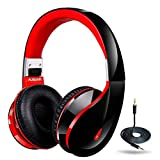 Ausdom AH2S Bluetooth Wireless Headphones with Microphone, On Ear Stereo Foldable Gaming Headset