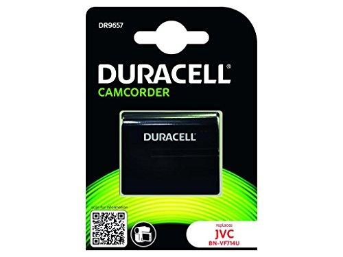 Duracell DR9657 - Batería de videocámara 7.4 V, 1400 mAh (reemplaza batería Original de JVC BN-VF714U)