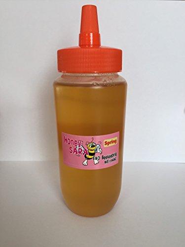 春の百花蜂蜜 500g (梅、桜、杏、りんごなど) 非加熱 非加糖 純粋国産はちみつ 信州産