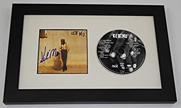 Keb' Mo' Self-Titled Signed Autographed Music Cd Cover Compact Disc Framed Display Loa