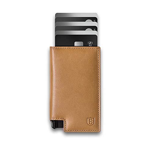 Ekster Parliament - Cartera de piel fina con bloqueo RFID y acceso rápido a las tarjetas