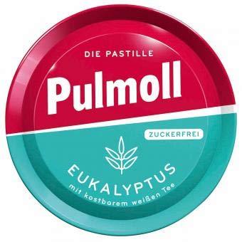 10 x Pulmoll Eukalyptus zuckerfrei mit Menthol a 50g mit Stevia