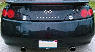 Best g35 coupe tail light overlays Reviews