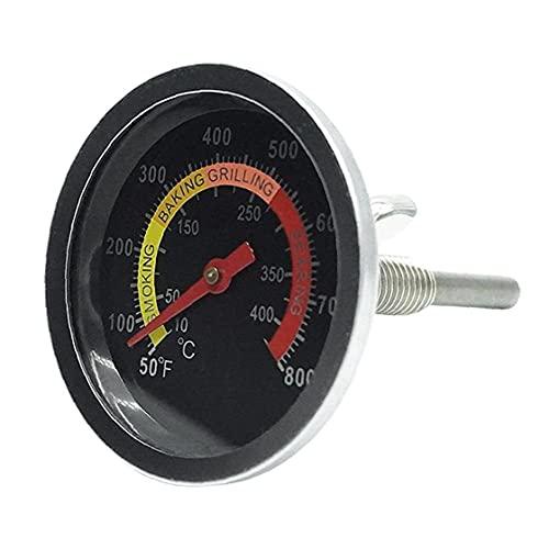 lujiaoshout Grill Grado probador Horno Barbacoa de Acero Inoxidable Reloj de medición de la Temperatura de la sonda Barbecue Pit Gadget