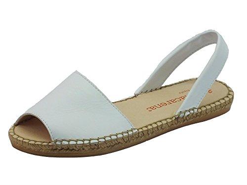 Macarena Playa32 Bianco, Damen Sandalen, Weiß - blanco - Größe: 36