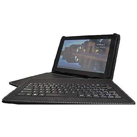 theoutlettablet® Funda con Teclado extraíble en español (Incluye Letra Ñ) para Tablet Huawei Mediapad M3 Lite / T5 / T3 de 10.1 Pulgadas HD - Color ...