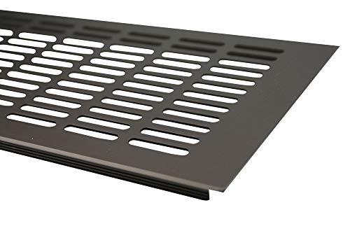 500 x 150mm Blanc Grille r/églable Grille de ventilation coulissante en M/étal