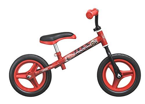 TOIMSA–Bicicleta sin Pedales para niños bajo Licencia Cars 10Pulgada (de 2a 3años, 106u