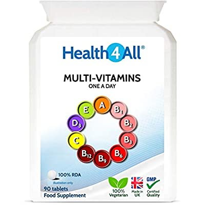 Health4All Multi Vitamins One a Day 90 Tablets