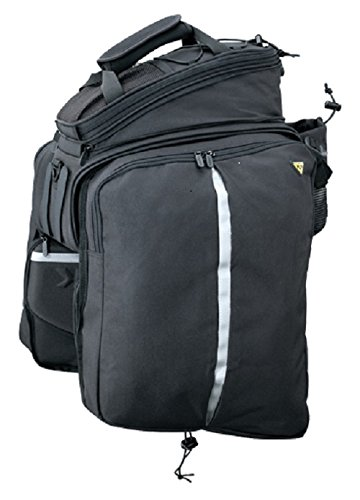 Topeak Gepäckträgertasche Trunk Bag DXP Strap Mount Fahrradtasche, Black, 36x29x25 cm