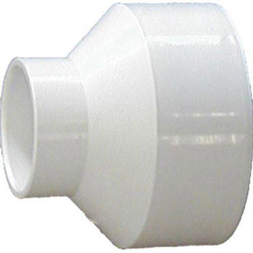 Genova 70143 Products 4 x 3 Sch. 40 PVC-DWV Reducing Couplings by Genova