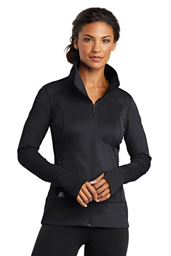 OGIO ENDURANCE - Ladies Fulcrum Full-Zip, Blacktop, X-Large