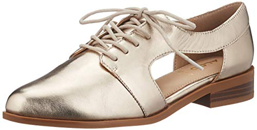 ALDO Damen Tokel Flacher Slipper, Light Silver, 38 EU