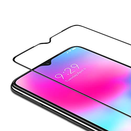 Bewahly Panzerglas Schutzfolie für Xiaomi Redmi Note 8 [2 Stück], 9H Festigkeit Panzerglasfolie Ultra Dünn Bildschirmschutzfolie Vollständige Abdeckung Glas Folie für Xiaomi Redmi Note 8 - Schwarz