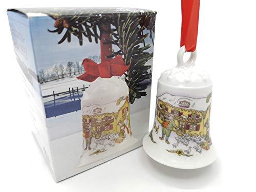 Hutschenreuther - Weihnachtsglocke 1992 - Glocke aus Porzellan - NEU - OVP