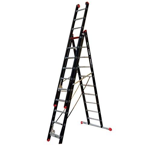 Altrex 0000403 aluminium ladder voor industrie, monunter, aantal treden: 2 x 14