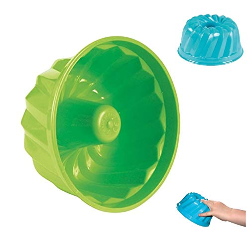Simba 107106226 - Sandformen Kuchen, es wird nur ein Artikel geliefert, Durchmesser 12cm, Sandkasten, Sandspielzeug