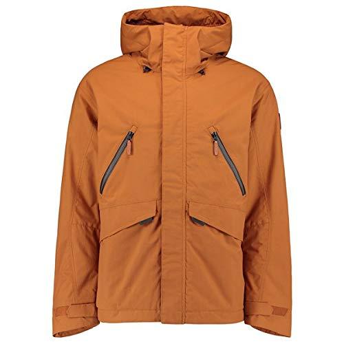 O'NEILL LM Urban Texture Jacket Chaqueta Hombre con Capucha, Glazed Ginger, L