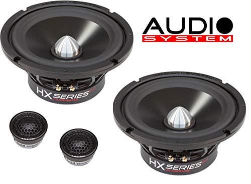 Audio System HX 165 Phase AKTIV EVO 2 HX Series Vollaktiv 16,5cm 2-Wege Lautsprecher System