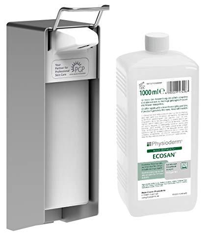 Ecosan huidreiniging, HACCP, geurvrij, zonder schuurkorrel, 1 liter flacon, 10st/doos