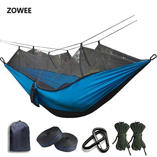 GZRUIGE Hamac de Parachute en Filet de Moustique ultraléger avec piqûres Anti-moustiques pour Tente de Camping en Plein air utilisant Le Sommeil Livraison Gratuite