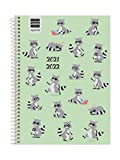 Finocam Agenda 2021 2022 Semana vista apaisada Septiembre 2021, Junio 2022 10 meses y Julio/Agosto resumidos 4º, 155x212 Básica Animals Español