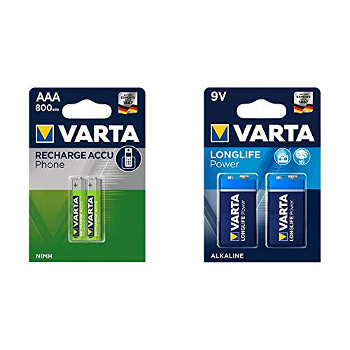 Varta Micro AAA Akku für DECT-Telefone...