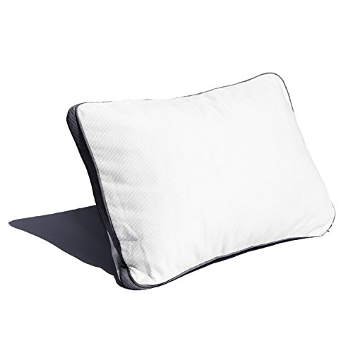 Coop Home Goods - Pillow Protector - Waterproof and Hypoallergenic - Protect Your Pillow Against Fluids/Spills/Mites/Bed Bugs - Oeko-TEX Certified Lulltra Fabric - Toddler/Camping White (Single)