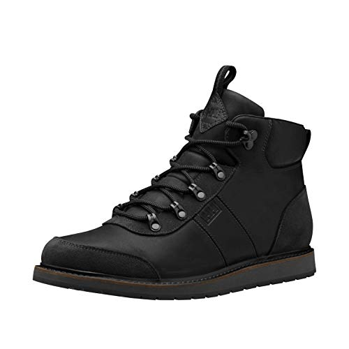 Helly-Hansen Mens Montesano Waterproof Winter Boot, 990 Black/Ebony, 10.5