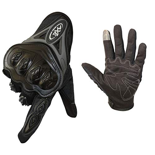 FitTrek Guantes Moto Mujer Hombre - Guantes Motocross Carretera Unisex- Guantes...