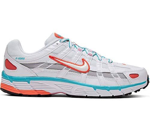 Nike Sportswear P-6000 Mujeres Zapatillas Blanco, Blanco, EU 40,5 - US 9