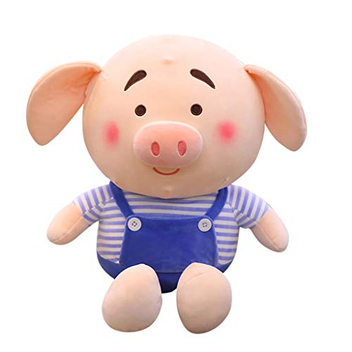 Shaohan Plush Pig Toy Pet Pig Pua Stuffed Animals Cute Soft and Comfortable Cartoon Plush Toy Doll Soft for Children's Toy Soft Toy for Girls Boys Toddler Kids Room Decoration 65cm Blue