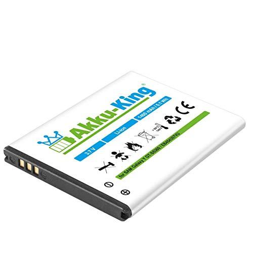 Akku-King Akku kompatibel mit Samsung EB454357VU EB454357BU Li-Ion 1400mAh - für Galaxy Y GT-S5360, Y Pro B5510, Wave Y GT-S5380, Pocket GT-S5300