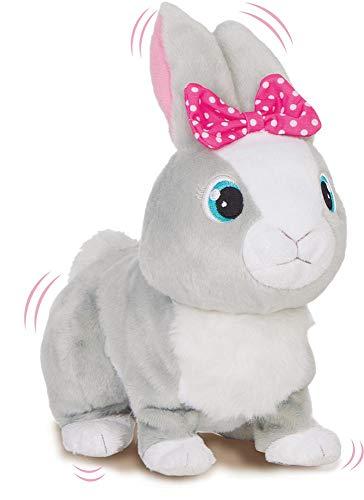 IMC Toys Betsy Club Petz 95861IM3 Coniglietta Paurosa, Colore Grigio
