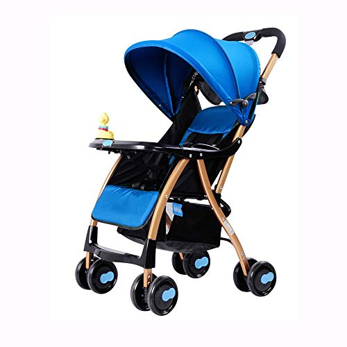 Read About Bck Can Sit or Lie Four Seasons Universal Baby Stroller, Lightweight Portable Folding Str...