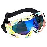 OhhGo Gafas de esquí Gafas de protección Profesional UV Gafas de Nieve antiniebla Gafas de esquí Deportivas para Hombres Mujeres niños