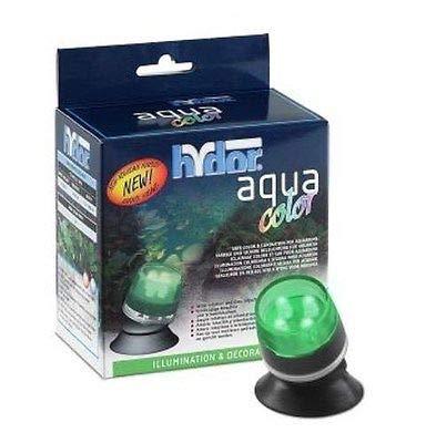 Hydor Aqua Color Mini-Spot LED grün, LED Spot für Aquarien