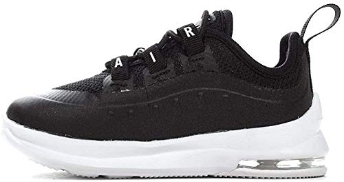 Nike Unisex Baby Air Max Axis (td) Hausschuhe, Schwarz (Black/White 001), 22 EU