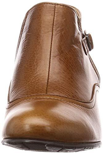 [アシナガオジサン]ブーツ3710297レディースブラウン23cm