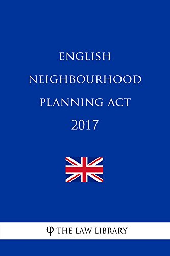 English Neighbourhood Planning Act 2017 (English Edition)