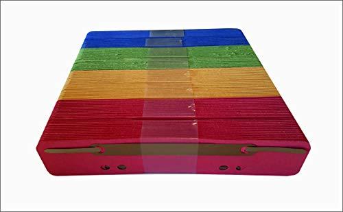 Blauer Engel Heftstreifen Karton, sortiert, 200 Stück