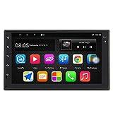 Panlelo S10 7 Pulgadas 2 DIN Android 9.0 GPS Navegación Autoradio Am FM RDS Quad Core 1GB RAM 16GB ROM Pantalla táctil 1024 * 600 BT Llamada Manos Libres Enlace Espejo Control del Volante