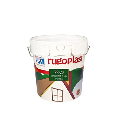 Pintura economica de exteriores blanca revestimiento liso ideal para decorar los exteriores de tu casa PR-20 Blanco (4 L) Envío GRATIS 24 h.