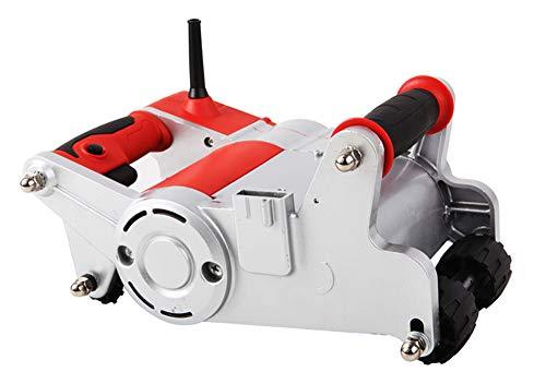 Huanyu Rozadora Eléctrica Ranuradora de Pared Sierra de Ladrillo Alta Potencia 220V 1100W Profundidad 15-30mm Puede girar 360° (con una cuchilla de 25mm)