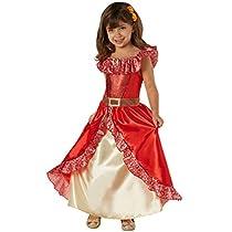 Rubies- Disney, Disfraz de Elena de Avalor Deluxe para niña (infantil 5-7 años)