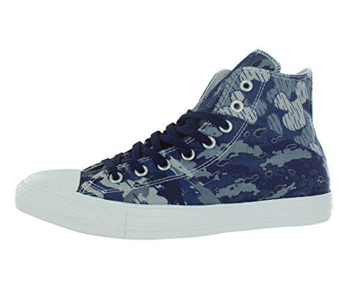 Converse Frauen Chuck Taylor Tri-Panel Hi Fashion Sneaker Blau Groesse 11.5 US /43 EU